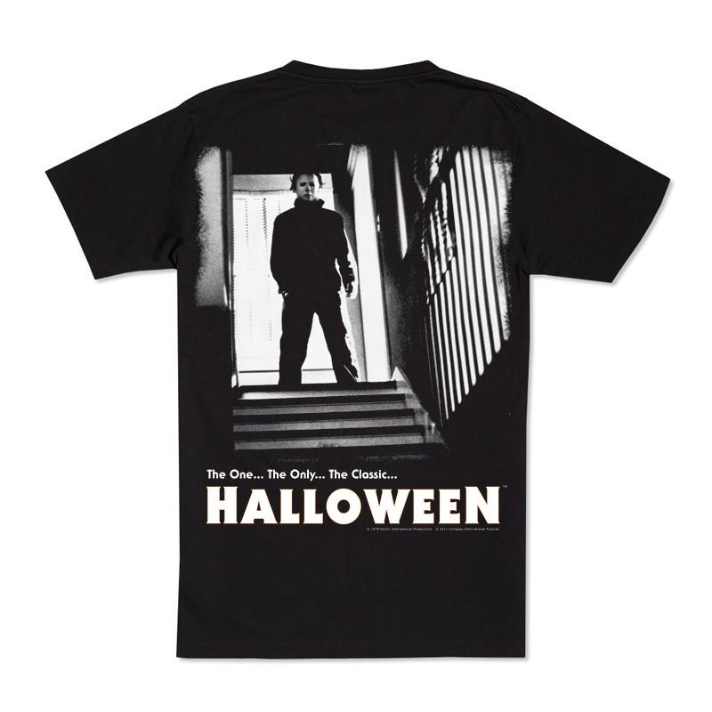 70053b3f Halloween: Michael Myers Stairs w/ Logo Tee