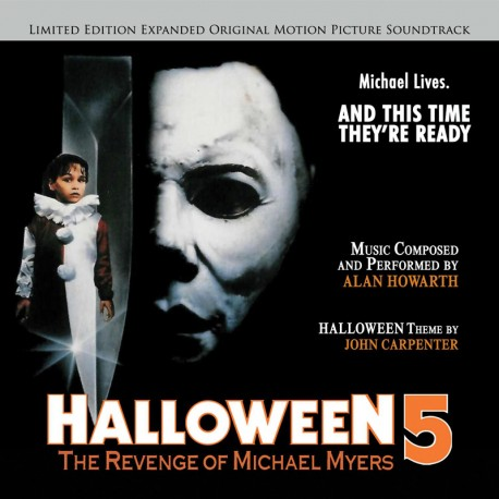halloween 5 the revenge of michael myers expanded deluxe edition soundtrack